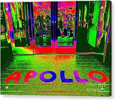 Apollo Pop Acrylic Print by Ed Weidman