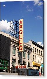 Apollo Theater Acrylic Print by Martin Jones