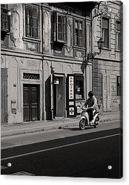 Apoteka Acrylic Print by Zeljko Dozet
