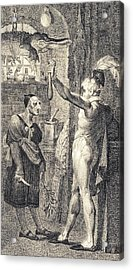 Apothecary In Romeo And Juliet, 1805 Acrylic Print by Science Photo Library