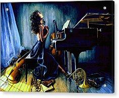 Appassionato Acrylic Print by Hanne Lore Koehler