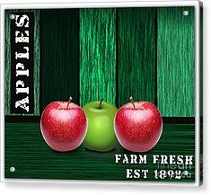 Apple Farm Acrylic Print by Marvin Blaine