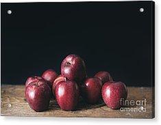 Apples Acrylic Print by Viktor Pravdica