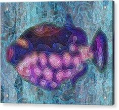 Aquarium 2 Acrylic Print by Jack Zulli