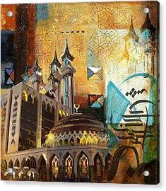 Ar Rehman Islamic Center Acrylic Print by Corporate Art Task Force