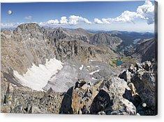 Arapaho Glacier Acrylic Print by Aaron Spong