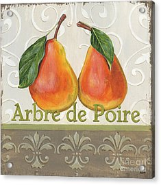 Arbre De Poire Acrylic Print by Debbie DeWitt