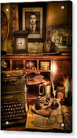 Archaeologist - The Adventurer's Hutch  Acrylic Print by Lee Dos Santos