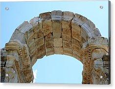 Arched Gate Of The Tetrapylon Acrylic Print by Tracey Harrington-Simpson