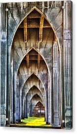 Arches For Days Acrylic Print by Darren  White