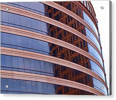 Architecture 1 Acrylic Print by Tom Druin