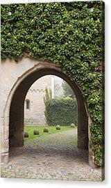 Archway Bebenhausen Abbey Acrylic Print by Matthias Hauser