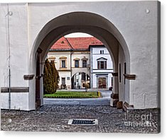 Archways Acrylic Print by Les Palenik