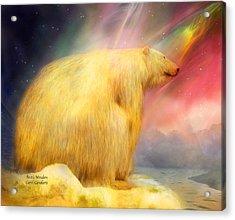 Arctic Wonders Acrylic Print by Carol Cavalaris