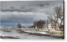 Acrylic Print featuring the photograph Ardmore Prairie by Bill Gabbert