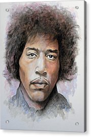 Are You Experienced Acrylic Print by William Walts