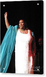 Aretha Franklin Acrylic Print by Concert Photos