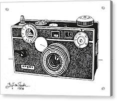 Argus 35mm Acrylic Print by Ira Shander