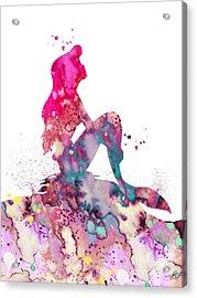 Ariel 2 Acrylic Print by Luke and Slavi