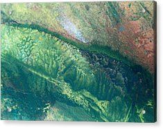 Ariel View Of Venus Acrylic Print by James Welch