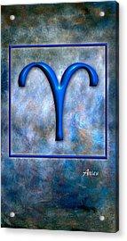 Aries  Acrylic Print by Mauro Celotti