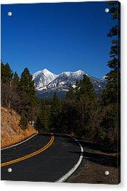 Arizona Country Road  Acrylic Print by Joshua House