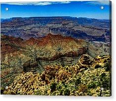Arizona - Grand Canyon 002 Acrylic Print by Lance Vaughn