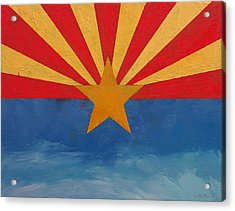 Arizona Acrylic Print by Michael Creese
