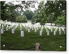Arlington National Cemetery - 01133 Acrylic Print by DC Photographer
