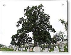Arlington National Cemetery - 01134 Acrylic Print by DC Photographer