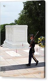Arlington National Cemetery - Tomb Of The Unknown Soldier - 01134 Acrylic Print by DC Photographer
