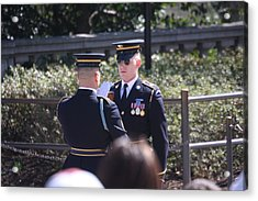 Arlington National Cemetery - Tomb Of The Unknown Soldier - 121221 Acrylic Print by DC Photographer