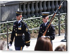 Arlington National Cemetery - Tomb Of The Unknown Soldier - 121223 Acrylic Print by DC Photographer