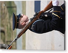 Arlington National Cemetery - Tomb Of The Unknown Soldier - 121227 Acrylic Print by DC Photographer