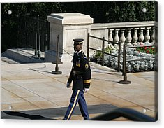 Arlington National Cemetery - Tomb Of The Unknown Soldier - 12126 Acrylic Print by DC Photographer