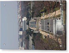 Arlington National Cemetery - View From Arlington House - 12121 Acrylic Print by DC Photographer