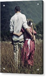 Arm In Arm Acrylic Print by Joana Kruse