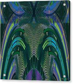 Armadillus Rex Acrylic Print by Bill Jonas