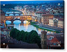 Arno Acrylic Print by Inge Johnsson