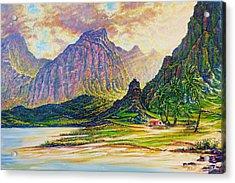 Around The Bend Acrylic Print by Joseph   Ruff