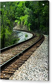 Around The Bend Acrylic Print by Parker Cunningham
