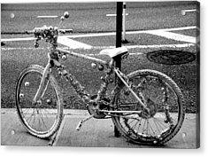 Art Bike Acrylic Print by Laura Jimenez