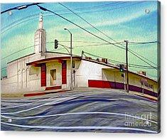 Art Deco Building - Pomona Ca Acrylic Print by Gregory Dyer
