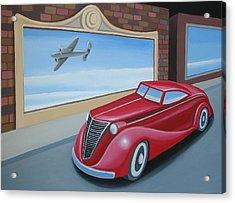 Art Deco Coupe Acrylic Print by Stuart Swartz