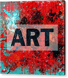 Art Acrylic Print by Gary Grayson