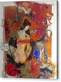 Art Is The Answer Acrylic Print by Delona Seserman