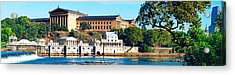 Art Museum At The Waterfront Acrylic Print by Panoramic Images