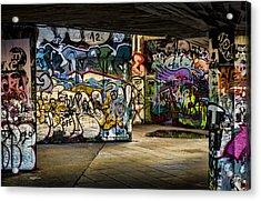 Art Of The Underground Acrylic Print by Heather Applegate