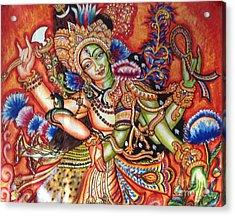 Arthanareeshwara Acrylic Print by Kami A