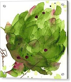 Artichoke II Acrylic Print by Dawn Derman